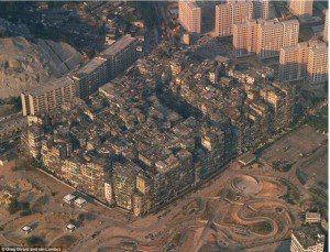 Hong Kong Guide - Kowloon Walled City Top View - Big Foot Tour