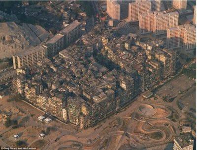 Hong Kong Guide - Kowloon Walled City Top View - Big Foot Tour