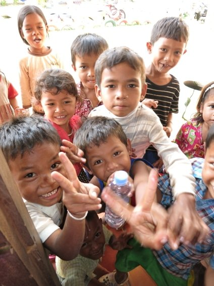 Hong Kong Guide - Giving in Cambodia - Big Foot Tour