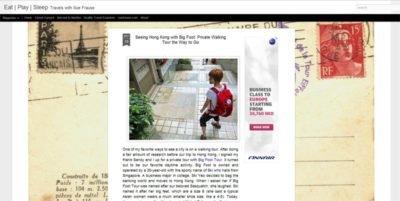 Sue Frause - Hong Kong Tours - Big Foot Tour - Walking Tours