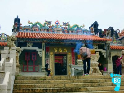 Cheung Chau Pak Tai Temple Big Foot Tour Hong Kong