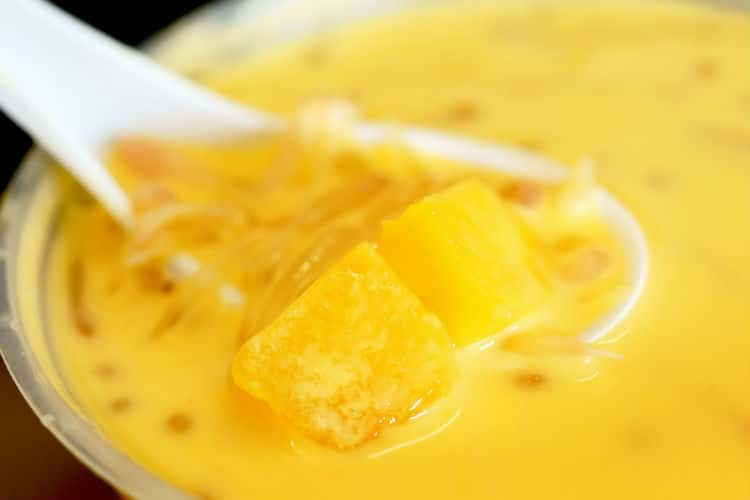 Hong Kong Desserts Mango Pomelo Sage