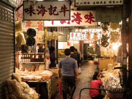 hong kong markets dried-seafood-street-market