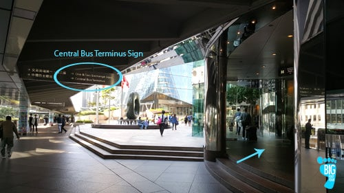 Central Bus Terminus - Victoria Peak Hong Kong 2