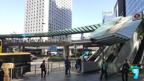 Central Station - Exit A - Hong-Kong - Victoria Peak