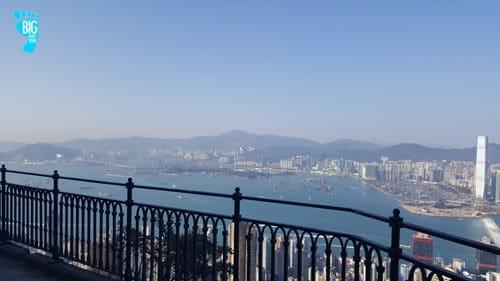 Victoria Peak Hong Kong Skyline Lugard Road Peak Circle