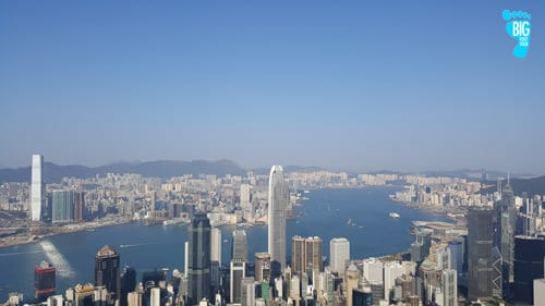 Victoria Peak Hong Kong Skyline Lugard Road Peak Circle 3