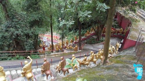 Ten Thousand Buddhas Monastery - Hong Kong Walking Tour Guide Step 35